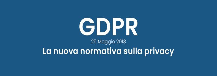 GDPR: Il caso comune della nuova normativa
