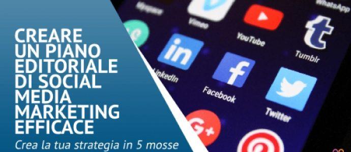 Creare un piano editoriale di Social Media Marketing efficace